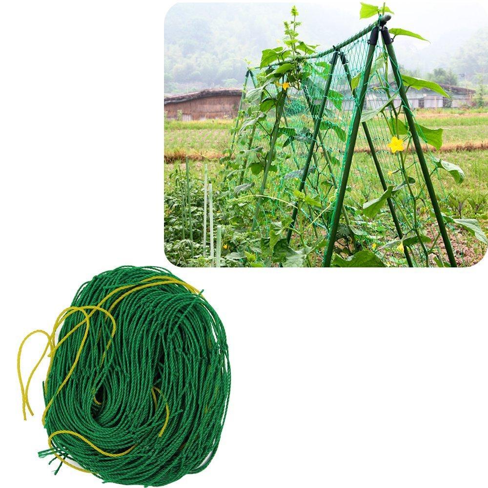 Mr.Garden Nylon Vine and Veggie Trellis Netting Plant Support 5.9'x8.9'