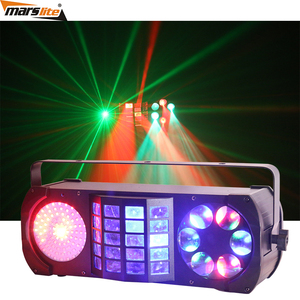 Hot selling products disco lights butterfly derby laser gobo projector 4in1 led effect stage lighting