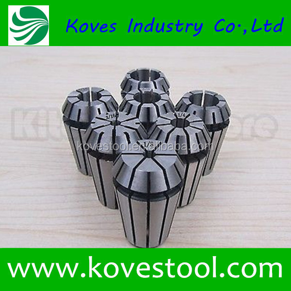 Wholesale Collets Set UP Grade A Type ER20 Spring Collet Clamping Range from 1 mm to 13 mm Suitable for ER Collet Chuck Holder
