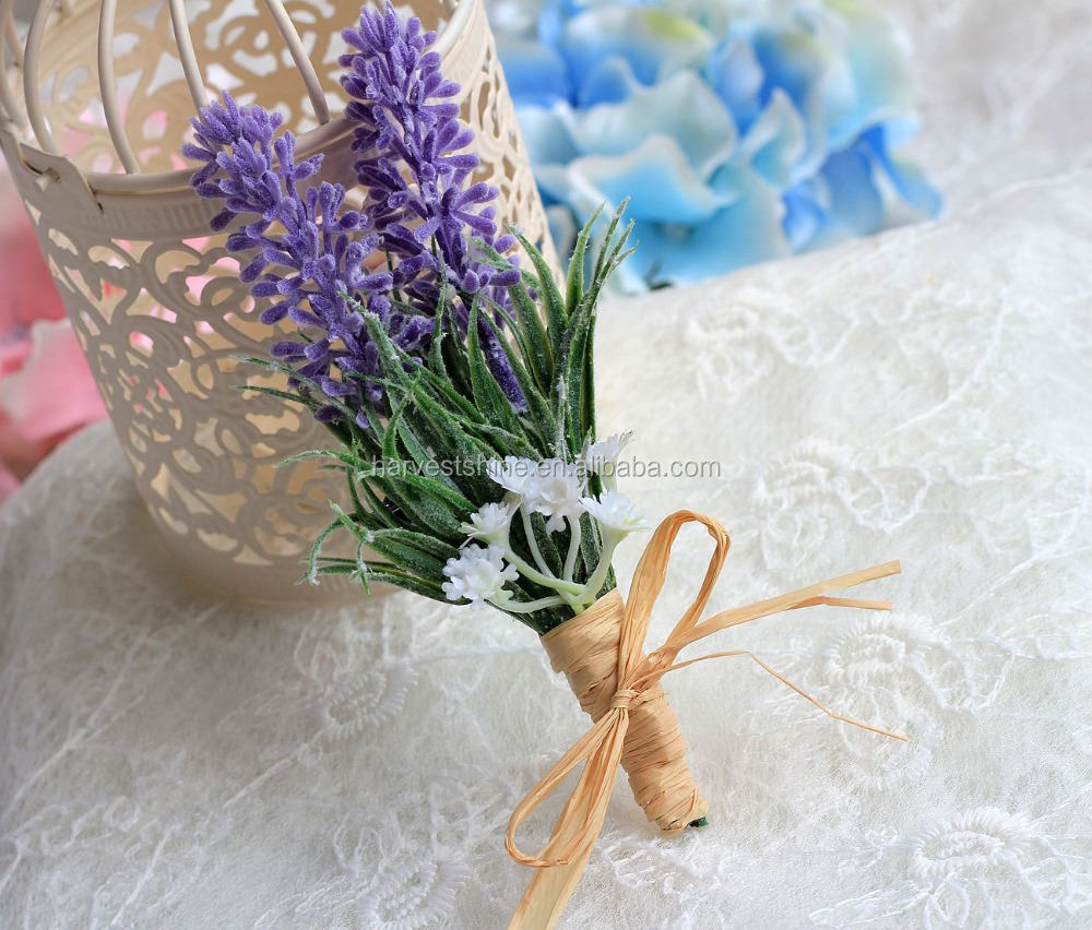 Lavender Flower wedding boutonniere,boutonniere pins for men