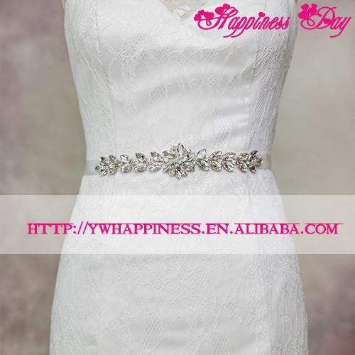 Trimming Crystal Rhinestones Wedding Sashes Belts Bridal Belts Sashes Accessories