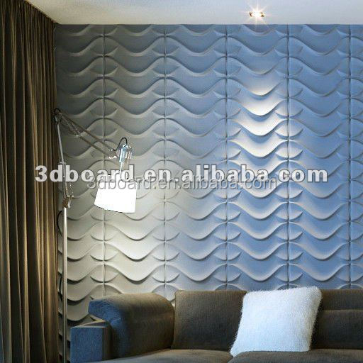 Plant fiber 3d wall paper/ 3 d wall panel/3d wall coverings wall decorations