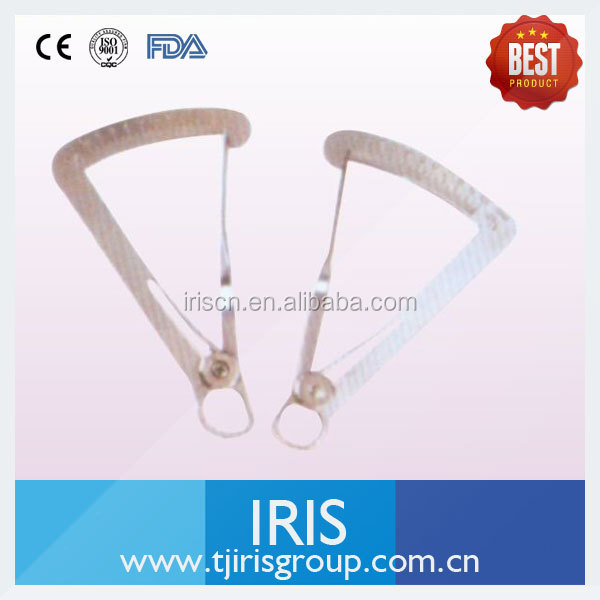 High quality Caliper for crown gauge metal/wax