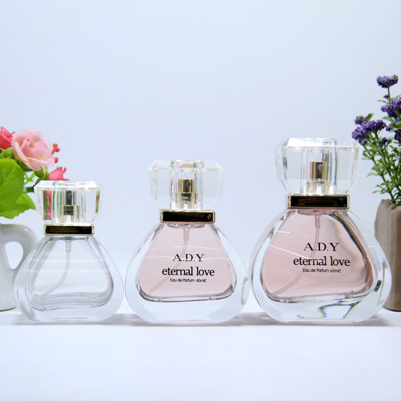30ml 50ml 70ml Printing glass empty perfume bottles for sale