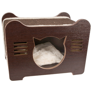Outdoor Folding Cheap Play Indoor Wooden Tree Scratcher Bed Pet Cat House