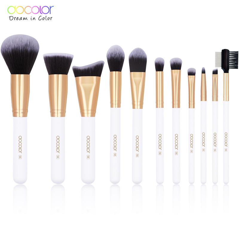 Alibaba.com / Original Docolor SE  DC1105  new model  personal care    11 piece makeup brushes