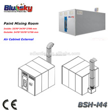 CE proved Paint Mixing Room/auto paint/italy spray booth