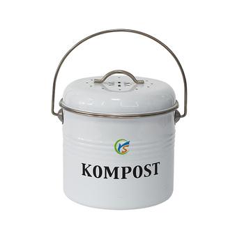 Arbeitsplatte Metall Küche Kompost Eimer - Buy Kompost Eimer,Metall ...