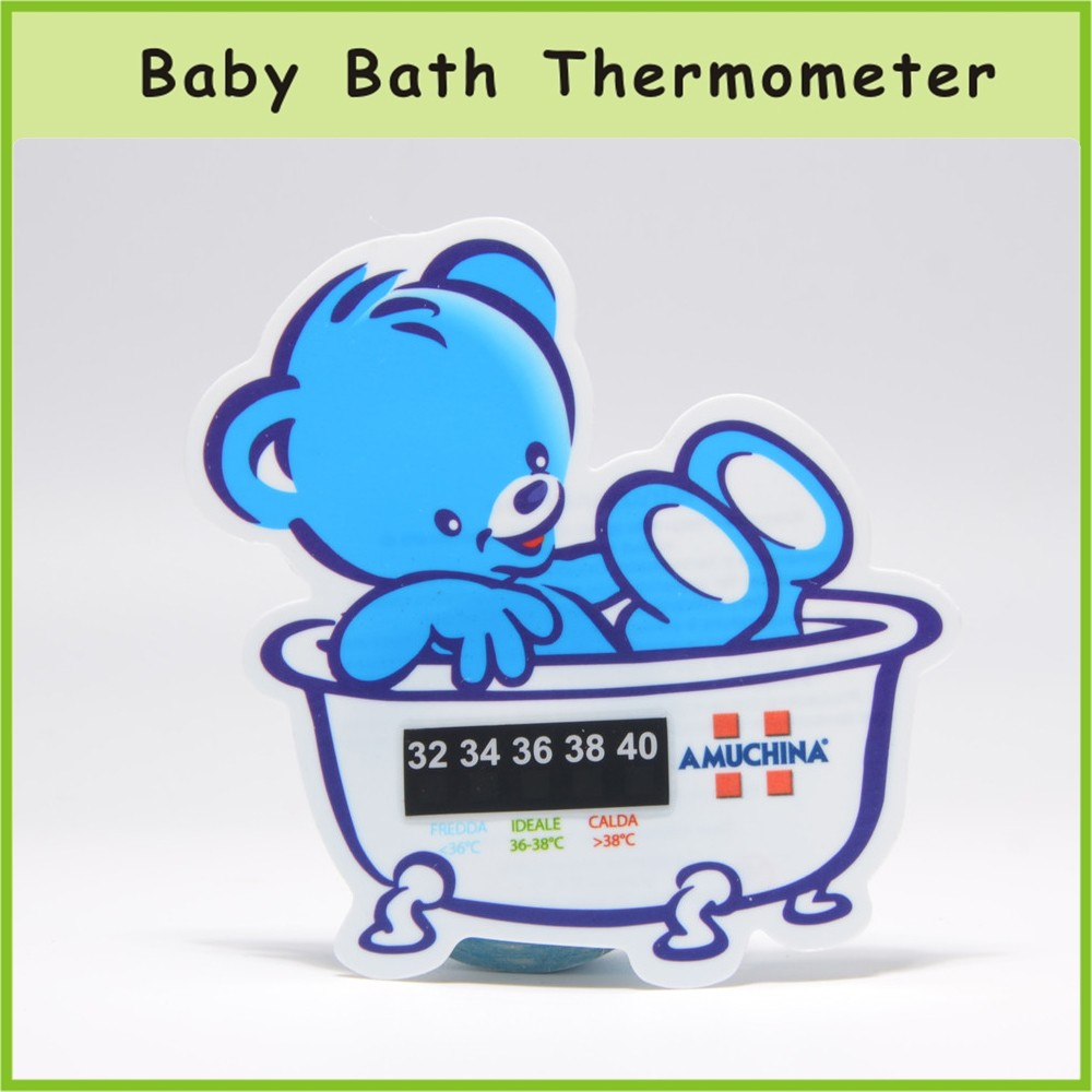 Bath Water Temperature Monitor Baby Bath Thermometer Card - Buy Baby ...