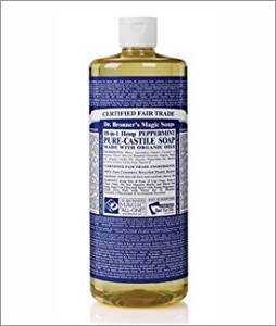 Peppermint Castille Soap(944mL) Brand: Dr. Bronners Magic Soap