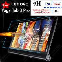 "Ultrathin 0.33mm 2.5D 9HTempered Glass Screen protector For Lenovo Yoga Tab 3 Pro 10 X90L X90F X90 10.1"" Tablet Protective Film"