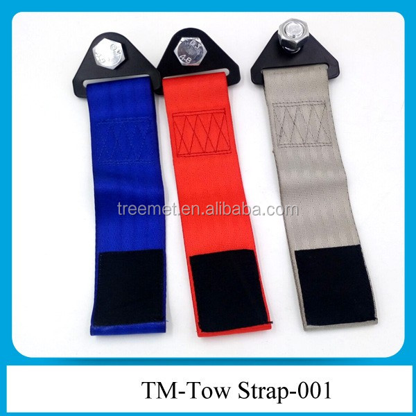 Wholesale custom car tow strap