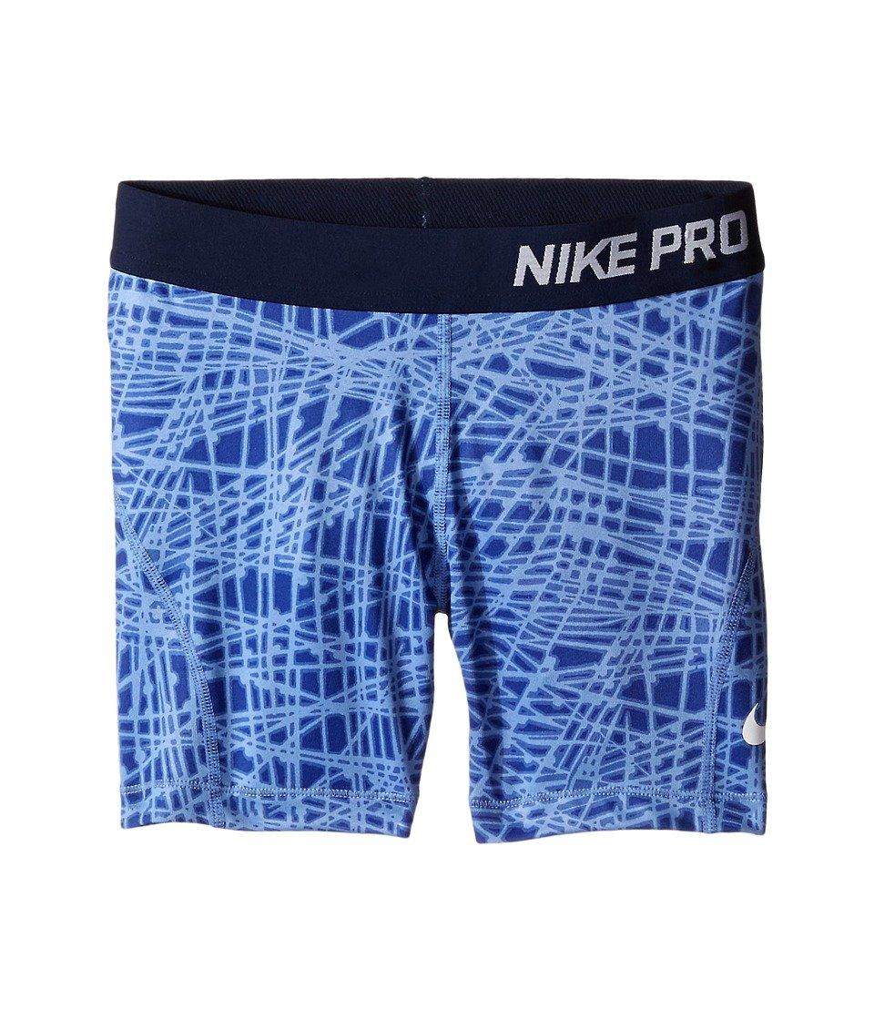d7c4da5159 Get Quotations · Nike Girls  Pro Cool Allover Print Boy-Shorts Small