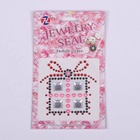 crystal diamond gem rhinestone phone sticker kid sticker