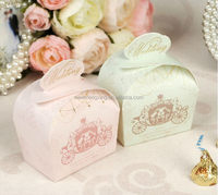 Most popular exported fancy wedding favors candy boxes