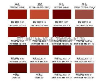 Powder Pigment Orange Color Iron Oxide 2040 For Brick Concrete Paint
