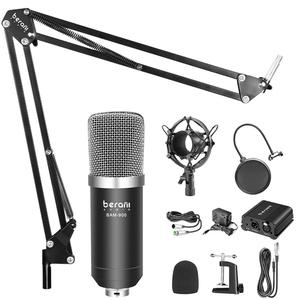 2019 factory microphone for home studio external sound card recording estudio microfono