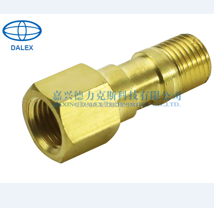copper hex nut pipe fiiting male/female thread hose coupling