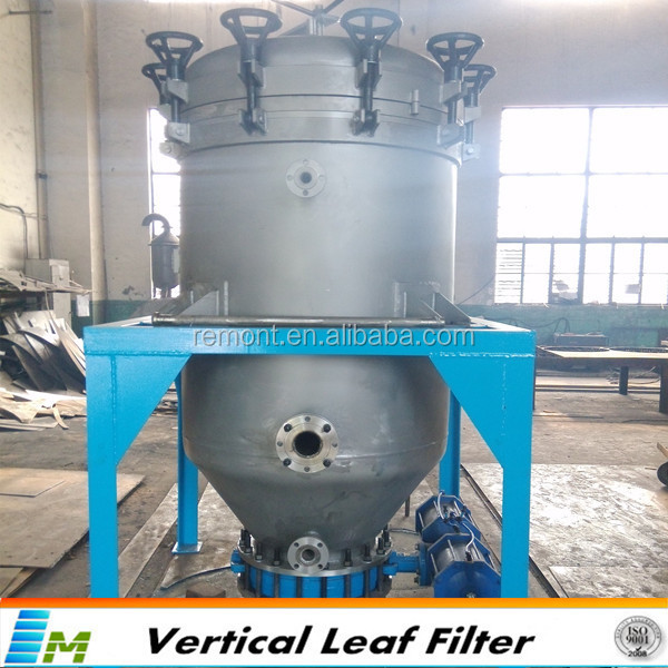 Automatic slagging filter engine oil bleaching machine