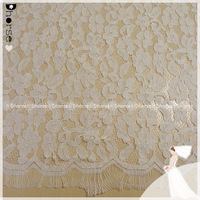 Wholesale Nylon/Cotton Eco-Friendly French net cord lace fabric