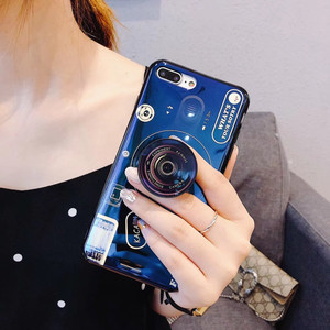 Cool IMD Camera Design Silicone Mobile Phone Case for Samsung Note 9 S7 edge S8 Plus , for Samsung Note 8 Case with Holder