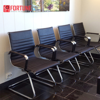 highly waiting room chairs visitor office pu polyuresthane Vinyl visitor chair