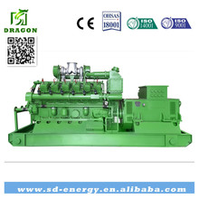 CE approved biogas generator 10kw - 1MW natural gas generator 1MW