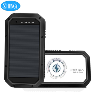 Shop China Electronics Online 20000Mah Portable Solar Charger Power Bank Wireless Power Bank