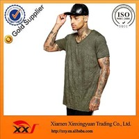 Wholesale cheap youth plain t shirt fold t-shirt for Men fashion street wear in summer