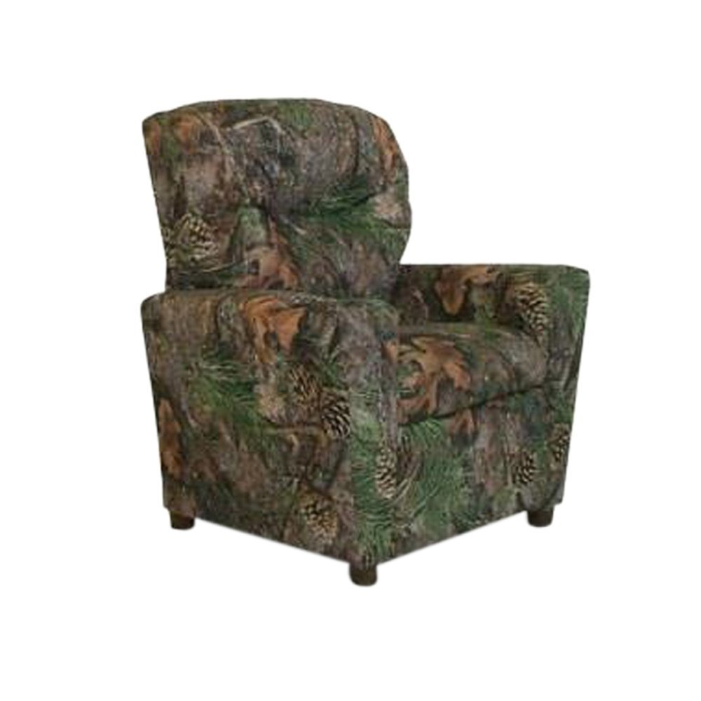 Get Quotations · Dozydotes Child Recliner With Cup Holder Camouflage Green    True Timber DZD9755