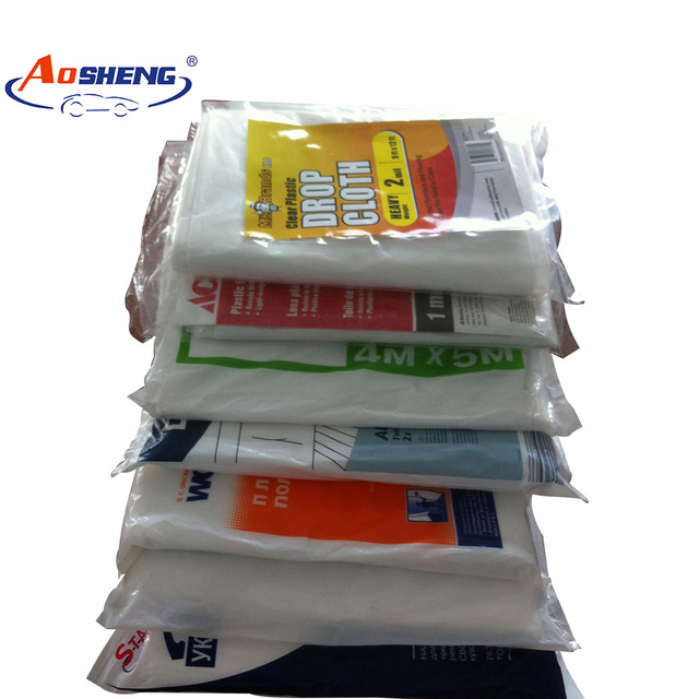 disposable protective painter ldpe drop sheet