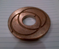 machined parts as per sample