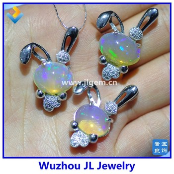 Zirconia diamond 925 silver natural ethiopian opal pendant opal zirconia diamond 925 silver natural ethiopian opal pendant opal jewelry wholesale aloadofball Images