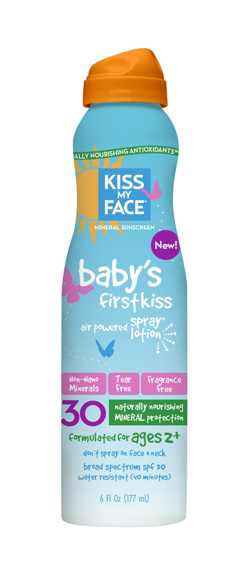 Baby's First Kiss Mineral SPF 30 Continuous Spray