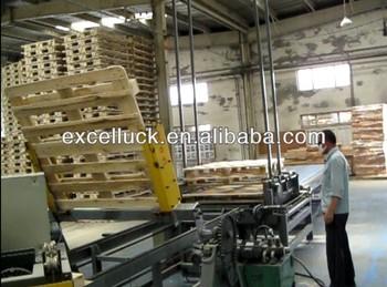 Automatic Wood Pallet Machine / Wood Pallet Making Machine ...