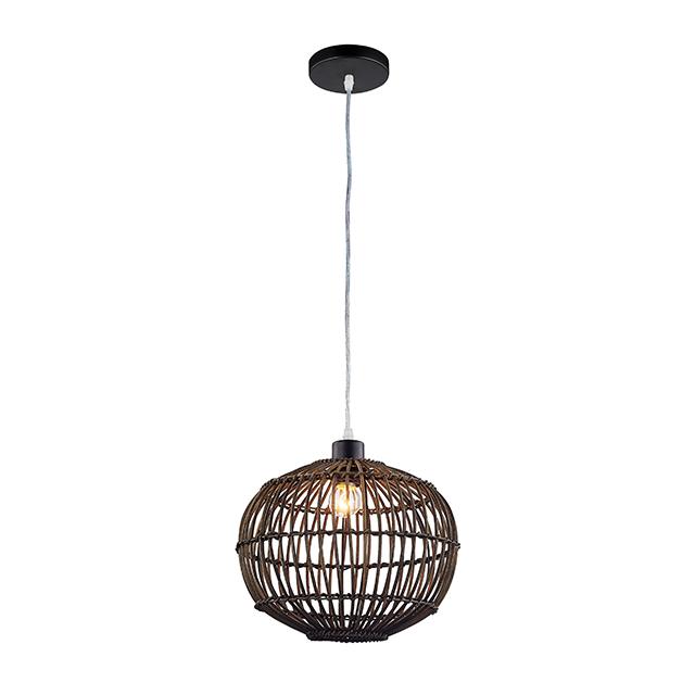 Lámpara Colgante De Bambú Natural Para Techo Tejido Negro Estilo Rústico Moderno Ul Buy Lámpara Colgante De Mimbre De Bambú,Luces Colgantes De