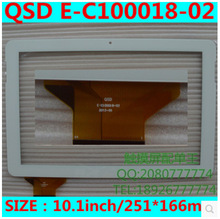 New 10.1 inch tablet capacitive touch screen QSD E-C100018-02 free shipping
