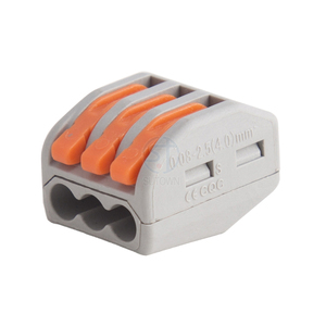 PCT-213 3pin PA66 Push-In wiring Connector Terminal Block Connector