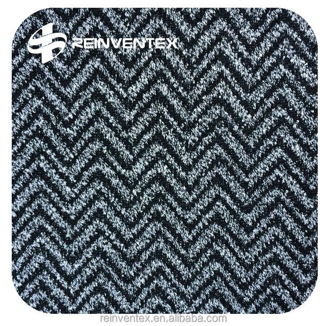 Herringbone Jacquard Fabric For Cloth Or Sofa, Poly 100%, Double Layer  Jacquard Fabric