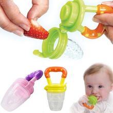 Nipple Fresh Food Milk Nibbler Bottle Feeding Tool Bell Safe Baby Bottle 1 Pcs