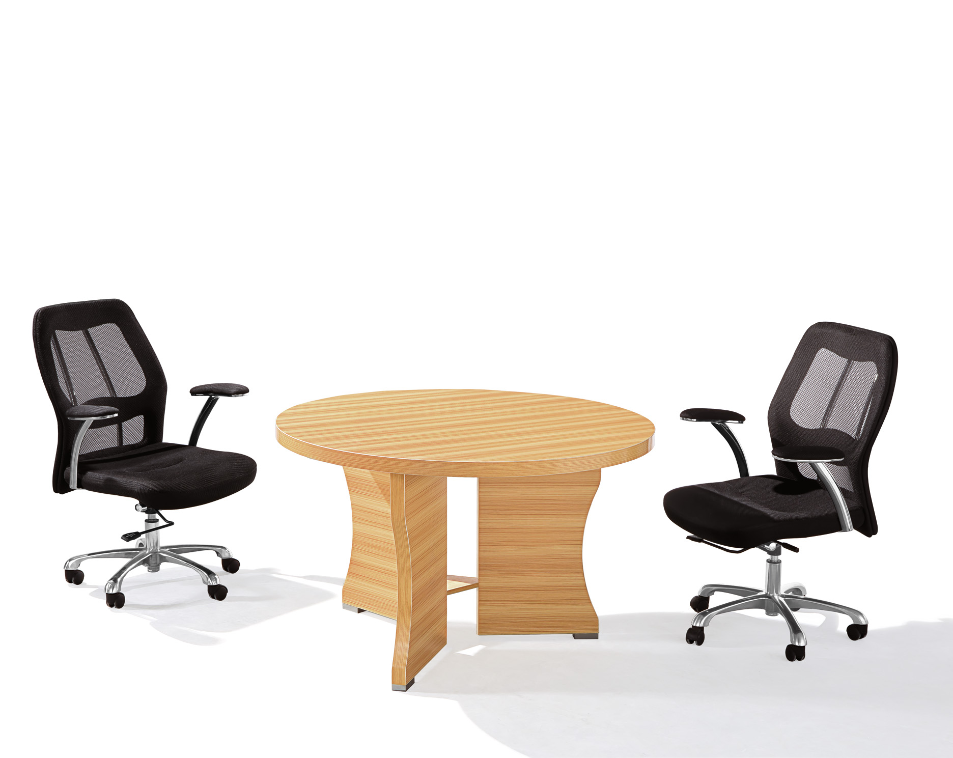 Modern Oem Melamine Office Furniture Round Small Conference