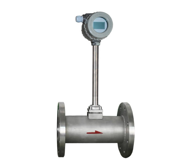 max pressure 2.5Mpa LUGB vortex natural gas flow meter/oxygen flowmeter/co2 gas flow meter