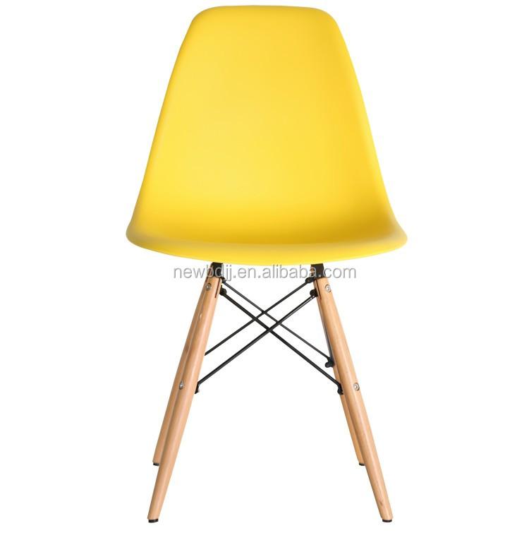Pas cher prix r plique en plastique manger chaises avec for Chaise eiffel pas cher