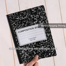 colored composition school notebook
