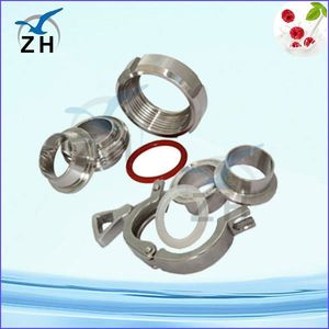 stainless steel ferrule coupling with Different sizes available stainless steel