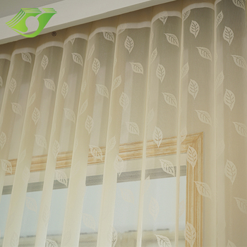 Elegant home deco lace fabric window blinds vertical