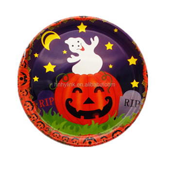 2017 Free S&le Cheap Colorful Customized Pizza Dessert Halloween Plastic Plate  sc 1 st  Alibaba & 2017 Free Sample Cheap Colorful Customized Pizza Dessert Halloween ...