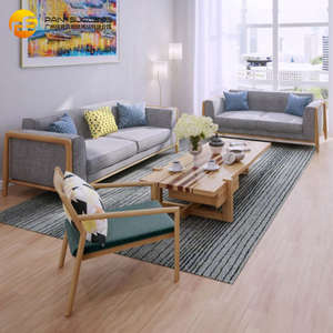 Customized Soft Fashion Fabric Sofaset For Living Room, Family Sofa Set