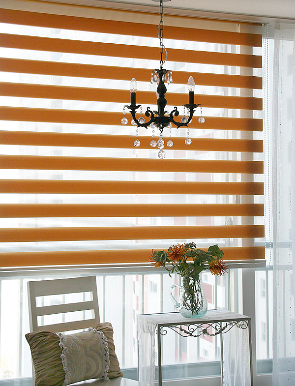 Battery solar motorized beautiful zebra blinds curtains