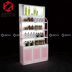 ZENTA Wooden Shop Cosmetic Decoration Storage Display